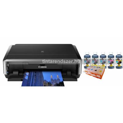 Canon Ip7250 Tölthető XL Reset chipes patronokkal + 5x100 ml tintával