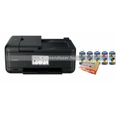 Canon TR8550 Tölthető XL chipes patronokkal + 5x100 ml tintával