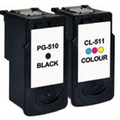 Canon PG510 CL511 utángyártott tintapatron szett