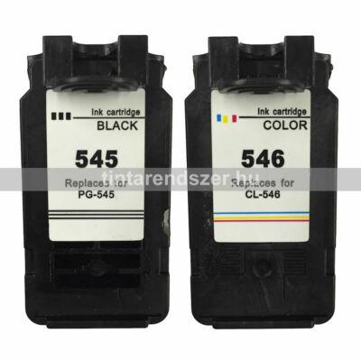 Canon PG545 CL546 utángyártott tintapatron szett