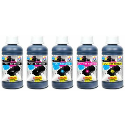 Canon PG520BK,  CLI-521 Cyan, Magenta, Yellow , Black kompatibilis szett