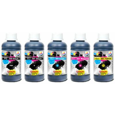 Canon PG550BK,  CLI-551 Cyan, Magenta, Yellow , Black kompatibilis szett