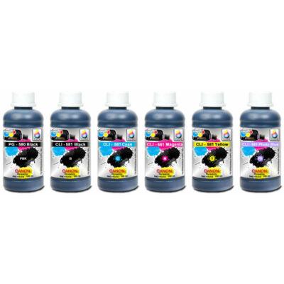 Canon PG580BK, CLI-581 Cyan, Magenta, Yellow , Black , Blue kompatibilis szett