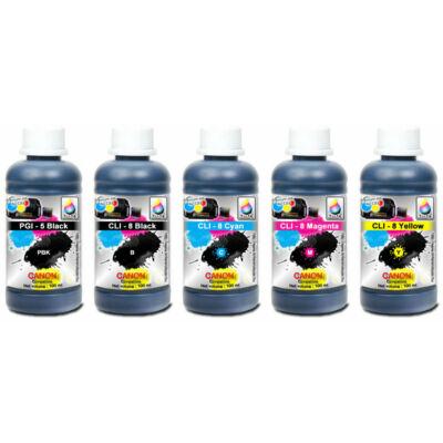 Canon PG5BK,  CLI-8 Cyan, Magenta, Yellow , Black kompatibilis szett