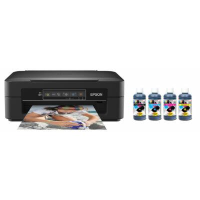 Epson XP245 Szublimációs nyomtatáshoz 4x100 ml induló tintával + papír + ragasztó